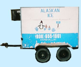 small ice trailer